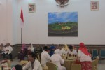 Suasana open house di Kantor Bupati Boyolali, Senin (28/7/2014). Kegiatan tersebut akan dilaksanakan selama dua hari. (JIBI/Solopos/Ahmad Baihaqi)