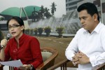 Poempida Hidayatullah dan Rieke Dyah Pitaloka (Dok/JIBI/Solopos/Antara)