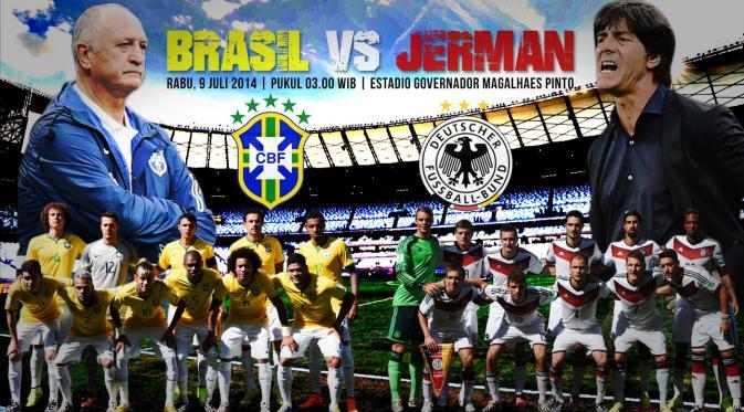 HASIL AKHIR JERMAN VS BRASIL