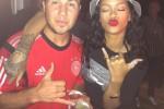 JERMAN JUARA DUNIA 2014 : Puji Jerman, Rihanna Ikut Pesta Bersama Goetze