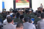 Dai Kamtibmas mengikuti halalbihala di Mapolres Klaten, Selasa (19/8/2014). Pada kesempatan itu, mereka menyatakan menolak ISIS. (Ayu Abriyani/JIBI/Solopos)