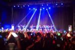 Konser JKT48 bertajuk Mengarungi Samudra Nusantara Mengetuk Pintu Hatimu di Sritex Arena, Solo, Jawa Tengah, Sabtu (9/8/2014) sore. (Putu Wiggih Diesta U./JIBI/Solopos.com)
