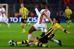 Laga Borussia Dortmund vs Augsburg yang berlangsung beberapa waktu lalu. Ist/Dok