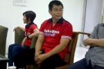 Chris John saat berkunjung ke redaksi Solopos.com, Kamis (21/8/2014). Mulyanto/JIBI/Solopos