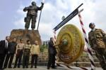 Simbol perdamaian diresmikan, Selasa (19/8/2014). (JIBI/Solopos/Antara/Andika Wahyu)