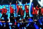 FOTO MAHAKARYA RCTI 25 : Begini Aksi Super Junior M di Jakarta