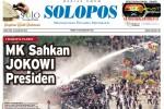 Halaman Depan Harian Umum Solopos edisi Jumat, 22 Agustus 2014