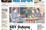 Halaman Depan Harian Umum Solopos edisi Kamis, 28 Agustus 2014