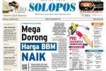 Halaman Depan Harian Umum Solopos edisi Sabtu, 30 Agustus 2014