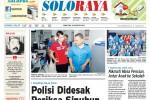 Halaman Soloraya Harian Umum Solopos edisi Jumat, 22 Agustus 2014