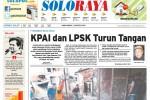 Halaman Soloraya Harian Umum Solopos edisi Kamis, 21 Agustus 2014