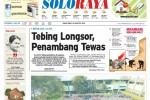 Halaman Soloraya Harian Umum Solopos edisi Kamis, 28 Agustus 2014