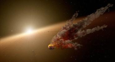Hasil tabrakan asteorit yang diprediksi lahirkan planet baru (dailymai.co.uk)