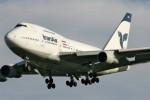 Ilustrasi pesawat Iran Air. (wikipedia.org)
