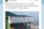 Direktur Puskaptis Bakal Maju Calon Bupati Ogan Ilir 2015?