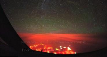 Kilauan cahaya misterius di Samudera Pasifik (dailymail.co.uk)