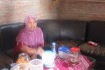 Mukiyem pengasuh Jokowi sat masih balita (Ahmad Baihaqi/JIBI/Solopos)