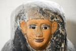 Peti batu Mesir yang ditemukan di Inggris (dailymail.co.uk)