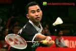 Tomy Sugiarto melangkah ke perempatfinal BWF World Championships. Ist/badmintonindonesia.org