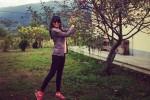 Pooja Sharma saat berlibur ke Bhutan (pinkvilla.com)