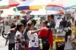 Aktivitas Sunday Market di Manahan (Ardiansyah Indra Kumala/JIBI/Solopos)