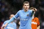 Dzeko memperpanjang kontrak di Manchester City. Ist/metro.co.uk