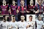 Ini dia para bintang Barcelona dan Madrid yang bakal memanaskan El Clasico. Ist/veooz.com