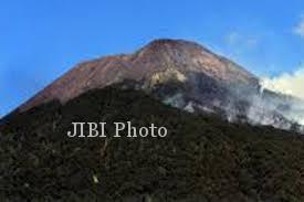 Gunung Slamet (JIBI/Harian Jogja/Antara)