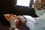 Jogja Slimming Center and Wellness (JSC) memperkenalkan metode pengencangan kulit dengan cara tanam benang, Senin (25/8/2014). (Abdul Hamied Razak/JIBI/Harian Jogja)