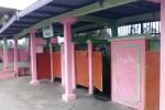 Kondisi kamar ganti laki-laki di Umbul Jolotundo, Karanganom, Klaten, tampak kurang terurus. Foto diambil Rabu (6/8/2014).(Chrisna Chanis Chara/JIBI/Solopos)
