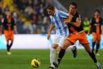 Laga antara Valencia vs Malaga beberapa waktu silam. Ist/Dokumentasi