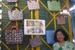 Tas daur ulang yang dipamerkan di Bantul Ekspo 2014. (JIBI/Harian Jogja/Bhekti Suryani)