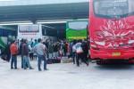LIBURAN DI JOGJA : Penumpang Melonjak, Tiket Bus Habis