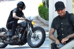 David Beckham dan Motornya (dailymail.co.uk)