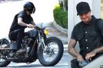 David Beckham dan Motornya (dailymail.co.uk)
