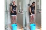 Luna Maya dalam Tantangan ILS Ice Bucket Challenge (youtube)