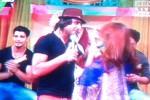 Aksi aktor-aktor Mahabharata di Fesbukers, Antv, Selasa (30/9/2014) petang. (Iconosquare.com/Evi Keristanti)