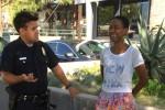 Danielle Watts saat ditangkap Polisi Los Angeles (tmz.com)