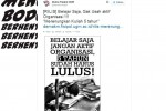 Dema Fisipol UGM dengan Foto Ilustrasi Pawel Kuczynski (twitter)