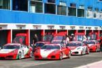 Teknisi memeriksa mobil seusai kejuaraan balap Ferrari F430 Competitizone Indonesia seri ke-7 Kelas Copa Jakarta Ban di Sirkuit Internasional Sentul Bogor, Jawa Barat, Sabtu (13/9/2014). Paul Montolalu dari ABM Motorsport berhasil menjadi juara I pada seri balap tersebut. (Dwi Prasetya/JIBI/Bisnis)