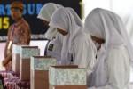 FOTO SMA NEGERI 1 KARTASURA : Siswa Smansa Kartasura Pilih Ketua OSIS