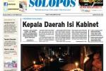 Halaman Depan Harian Umum Solopos Edisi Selasa, 23 September 2014