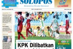 Halaman Depan Harian Umum Solopos edisi Jumat, 19 September 2014