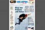 Halaman Depan Harian Umum Solopos edisi Minggu, 21 September 2014