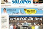 Halaman Depan Harian Umum Solopos edisi Rabu, 3 September 2014