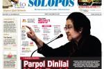 Halaman Depan Harian Umum Solopos edisi Senin, 22 September 2014