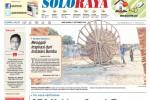 Halaman Soloraya Harian Umum Solopos edisi Rabu, 3 September 2014