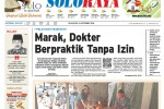 Halaman Soloraya Harian Umum Solopos edisi Selasa, 16 September 2014