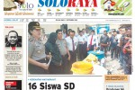 Halaman Soloraya Harian Umum Solopos edisi Selasa, 2 September 2014