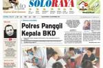 Halaman Soloraya Harian Umum Solopos edisi Selasa, 30 September 2014